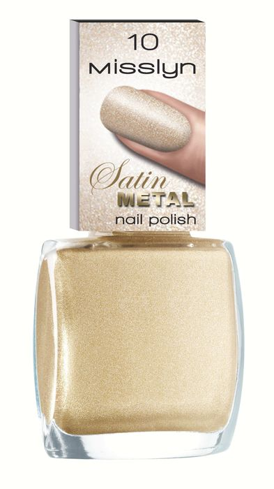Satin Metal Nail Polish