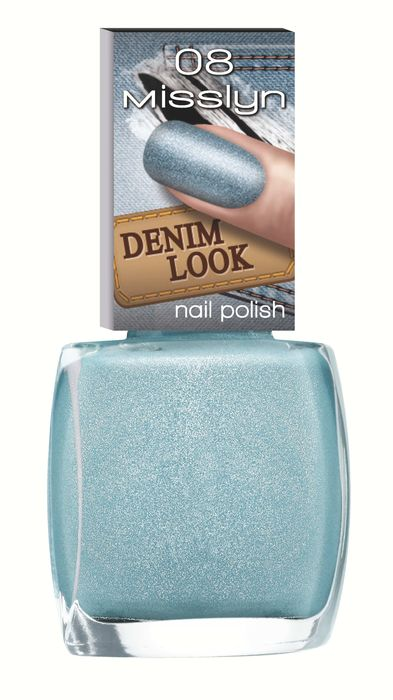 Denim Look Nail Polish