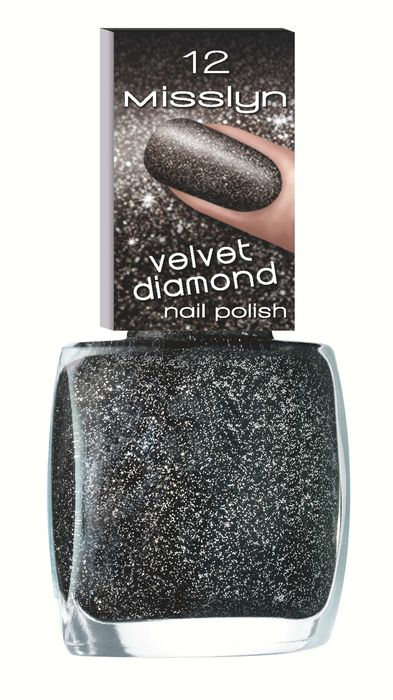 Velvet Diamond Nail Polish