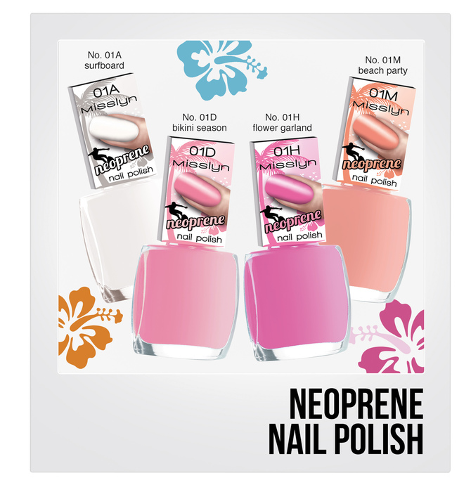 Neoprene Nail Polish