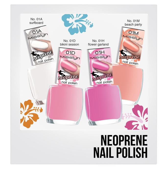 Neoprene Nail Polish
