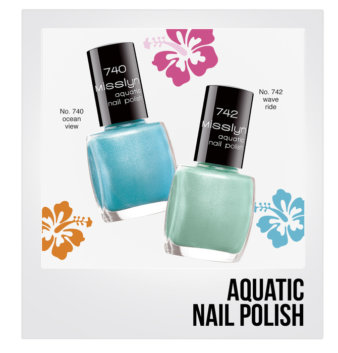 Aquatic Nail Polish